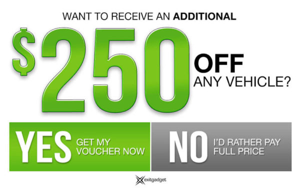 $250 Additional Discount - Green
