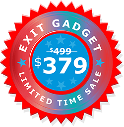 ExitGadget ONLY $379!!!! Buy Now! Leads Tomorrow